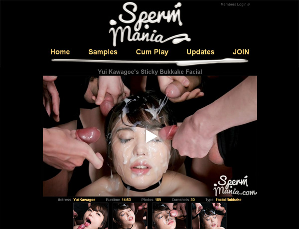 Sperm Mania Free Trial Member