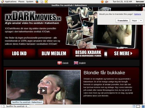 Xxdarkmovies.dk Promo Offer