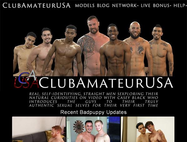 Clubamateurusa Sing Up