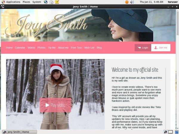 Free Jenysmith.net Promo