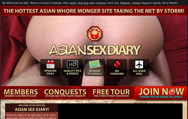 Asiansexdiary Receive Discount