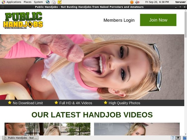 How To Get Free Public Handjobs Account