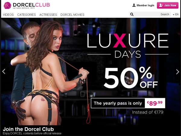 Pay For Dorcel Club